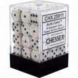 Chessex Tärningar 36st D6 12mm Arctic Camo