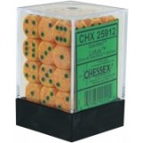 Chessex Tärningar 36st D6 12mm Lotus