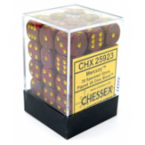 Chessex Tärningar 36st D6 12mm Mercury