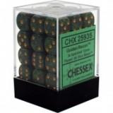Chessex Tärningar 36st D6 12mm Golden Recon