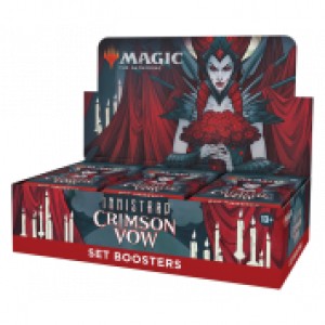 1x Innistrad: Crimson Vow Set Booster Display (30 Booster) Release 19/11