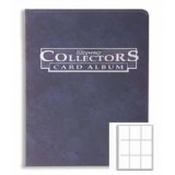 Collectors 9-Pocket Portfolio - Blue