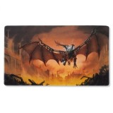 Dragon Shield Art Playmat - Copper 'Draco Primus, Unhinged'