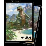 UP - Deck Protector Sleeves - Magic: The Gathering Babygodzilla, Ruin Reborn (100 Sleeves)