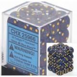 Chessex Tärningar 36st D6 12mm Twilight