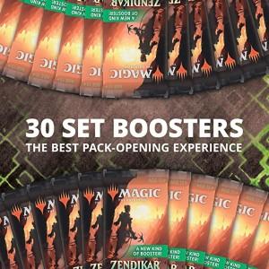 30x Zendikar Rising Set Booster (Direkt ifrån Display)