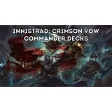 1x Innistrad: Crimson Vow Commander Deck Display (4 Decks) Release 19/11