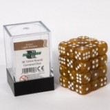 Blackfire Dice Cube – 12mm D6 36 Dice Set – Marbled Light Brown