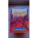 Dragon Shield Matte Red (100 st)