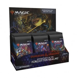 1x Adventures in the Forgotten Realms Set Booster Display (30 Booster)