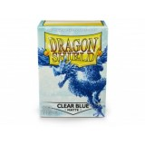 Dragon Shield Matte Clear Blue  (100 st)