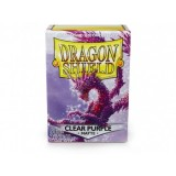Dragon Shield Matte Clear Purple  (100 st)