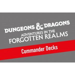 1x Adventures in the Forgotten Realms Commander Deck Display (4 Decks)