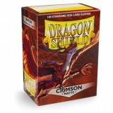 Dragon Shield Matte Crimson (100 Sleeves)