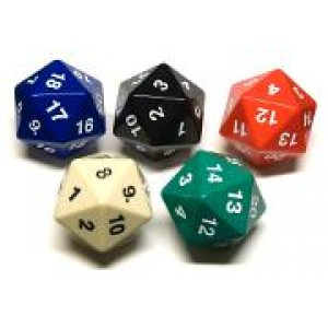 5 x Spindown D20