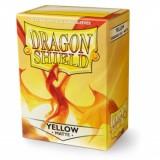 Dragon Shield Matte Yellow (100 St)