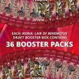 36x Ikoria: Lair of Behemoths Draft Booster (Direkt ifrån Bundles)