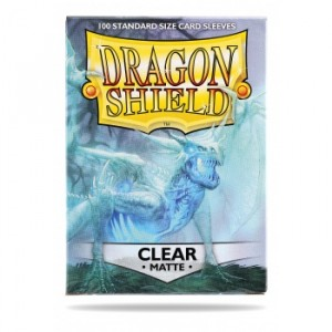 Dragon Shield Matte Clear (100 Sleeves)