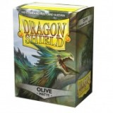 Dragon Shield Matte Olive (100 Sleeves)