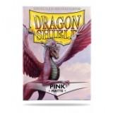 Dragon Shield Matte Pink (100 Sleeves)
