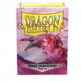 Dragon Shield Matte Pink Diamond (100 st)