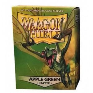 Dragon Shield Matte Apple Green (100 st)