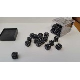 Chessex Tärningar 36st D6 12mm Ninja