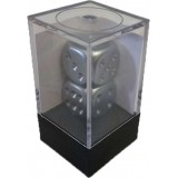 Chessex Tärningar 2 Aluminum Plated