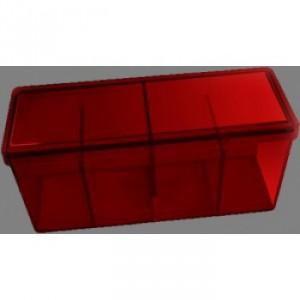 Dragon Shield - 4 Compartment Storage Box - Red