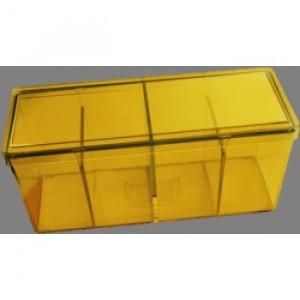 Dragon Shield - 4 Compartment Storage Box - Yellow