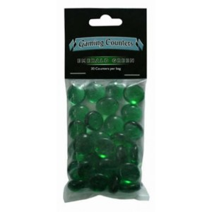 Counters Emerald Green (30 st)