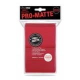 Ultra Pro - Pro Matte Red (100st)