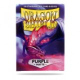 Dragon Shield Matte Purple (100 Sleeves)