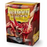 Dragon Shield Matte Ruby (100 St)